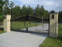 Personalised Estate Gate