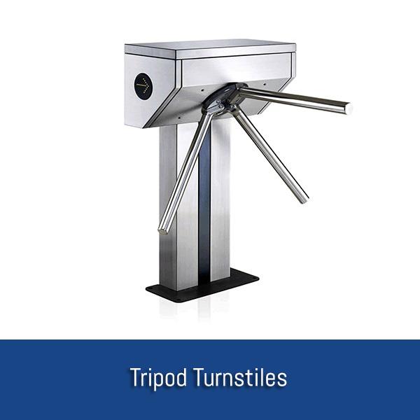 Security turnstiles full height turnstile tripod
