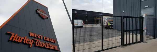 harley davidson electric gates glasgow